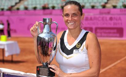 Roberta Vinci, campiona del Barcelona Ladies Open 2011