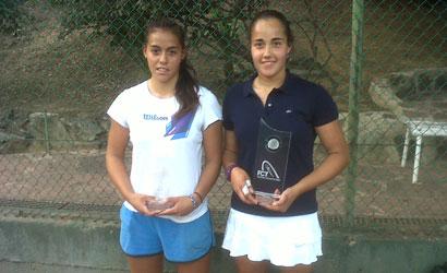 Maite Cano, campiona i Gladys Artiles, finalista del XLIV Trofeu Egara