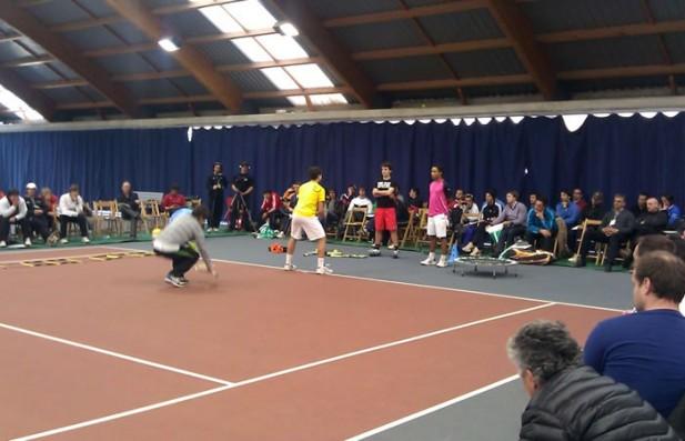 Lleida va estar present a les  XIII Jornades del Tennis Català