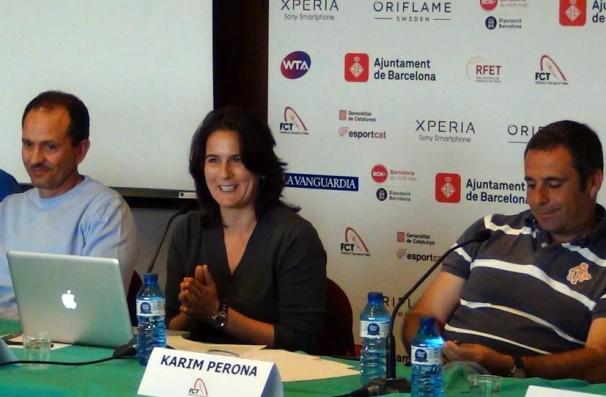 Jornada Tècnica d'Actualització   de Tennis Femení a Vall d'Hebron