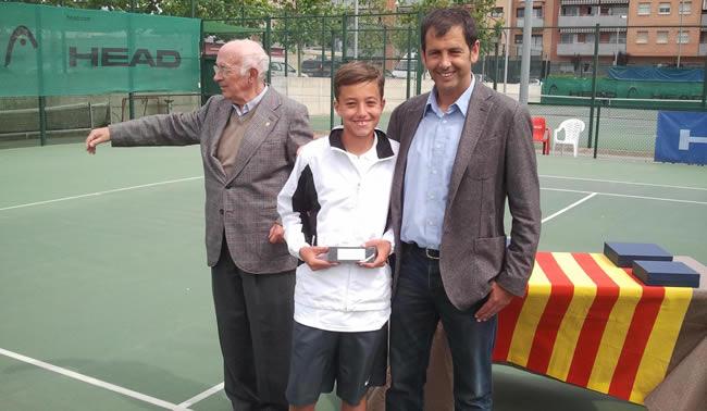 Alejandro Serret, el nou campió de Catalunya Aleví