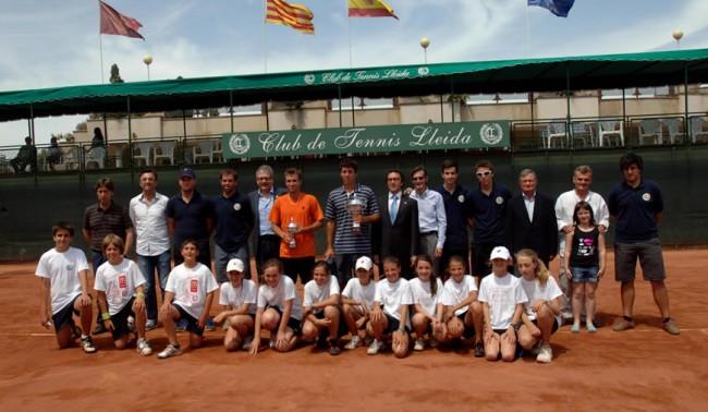 El Futures del Club Tennis Lleida corona a Sergio Gutiérrez
