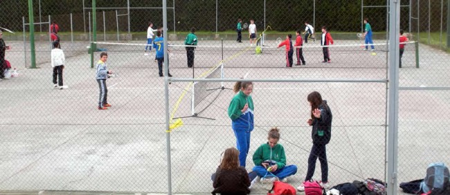 El tennis, present a la Trobada Esportiva del Pla d'Urgell