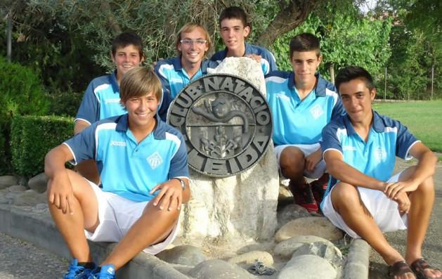 L'equip infantil del CN Lleida, al Campionat d'Espanya