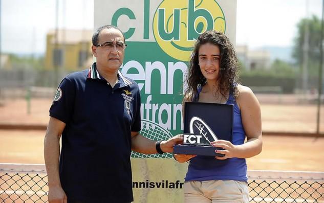 La lleidatana Magda Aubets, campiona de Catalunya Sub-15