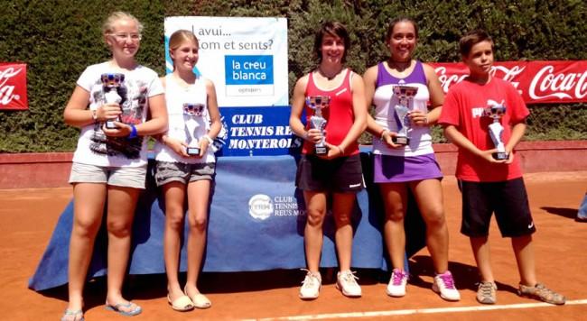 El tennis lleidatà, protagonista de cinc finals al Reus Monterols