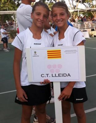 El CT Lleida mostra la seva qualitat a l'Estatal Aleví
