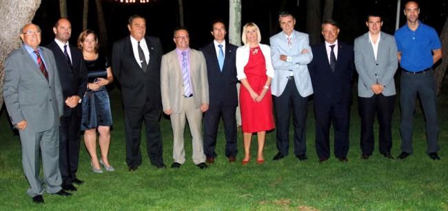 Homenatge a José Antonio Valero al Club Tennis Lleida