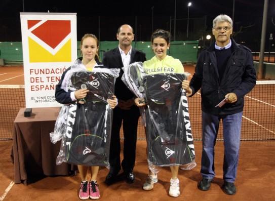Aubets i Irigaray s'emporten el Torneo Fundación al CT Urgell