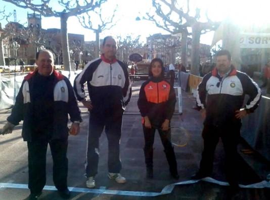 El CT Tàrrega porta el tennis al carrer per la Marató de TV3