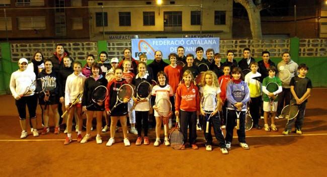 Trobada de 'Viu el Tennis' de la FCT al Sícoris Club