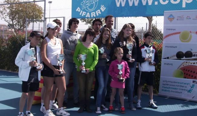 L'Open CN Lleida-Esports Pifarré corona els primers campions