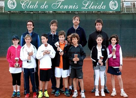 El Tennis i Cultura del CT Lleida ja coneix els seus campions