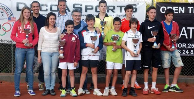 El IX Open Prat Llongueras del CT Lleida viu les finals juvenils