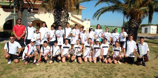 La Selecció Lleidatana de tennis, al nivell de les millors de l'Estat espanyol