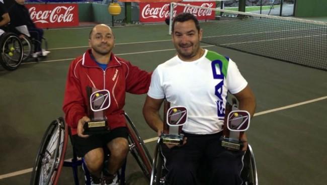 Ubald Miret, sotscampió de dobles a Oviedo