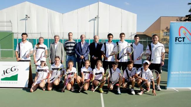 Nou i gran repte per a la  Selecció Lleidatana de tennis