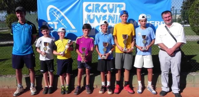 Torrent, Canyadell i Slafer guanyen el Circuit d'Estiu del Sícoris Club
