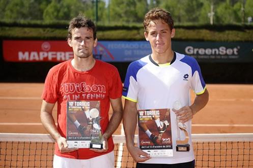 Els tennistes del CT Barcino es proclamen campions al Futures de Sant Cugat