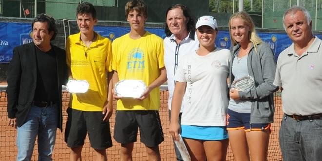 """David Gonzalez, CT Mataró, s'adjudica la victòria de l'Internacional sots´16 """"Iberostar Vilas academy Trophy"""""""