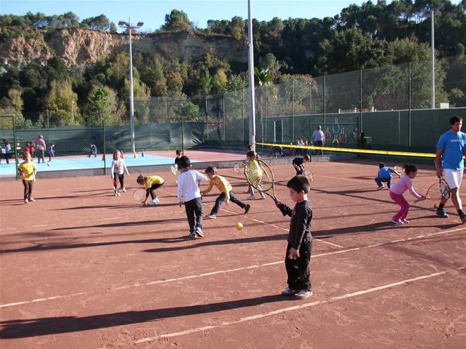 Jornada de Promoció del Tennis a la Pobla de Claramunt