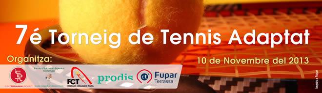 El CD Terrassa acull el setè Torneig de Tennis Adaptat