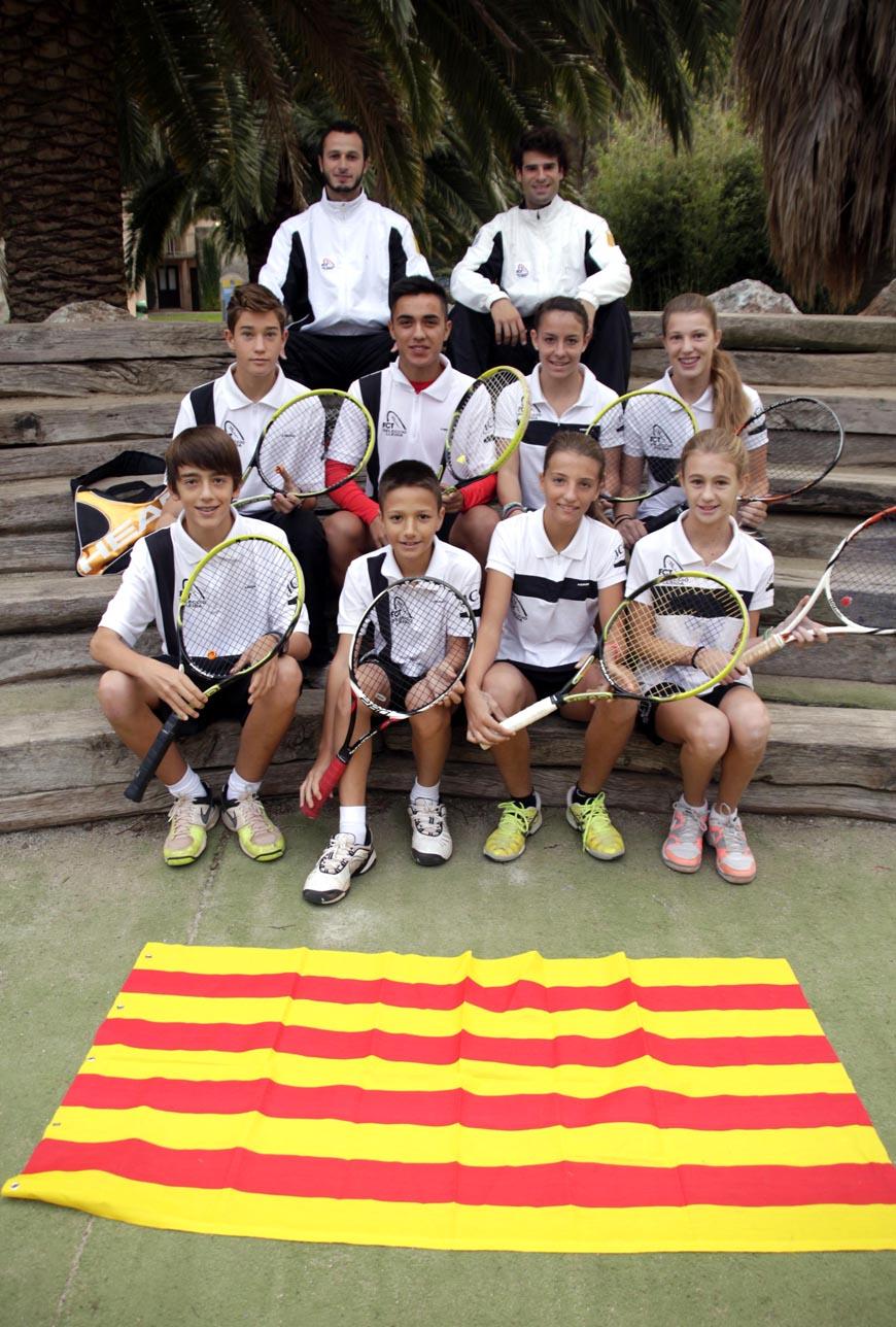 Selecció Lleidatana de tennis - Traspirineus 2013