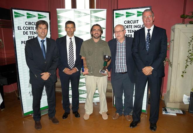 Jordi Ramos, campió del circuit El Corte Inglés de periodistes