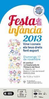La Festa dels Drets dels Infants a l'Estació del Nord