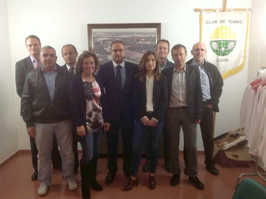 nova Junta del Club Tennis Urgell novembre 2013