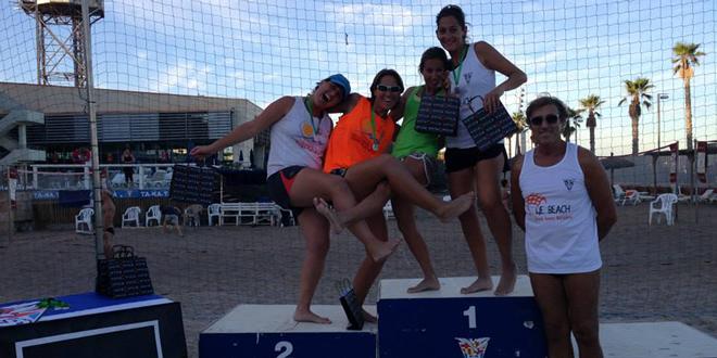 Jornada estival en la passada prova IV We Beach al CNB