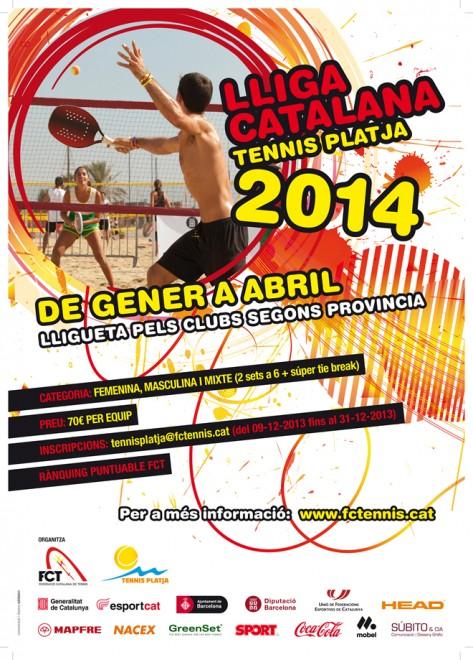 1ra Edició de la Lliga Catala Provincial de Tennis Platja per equips