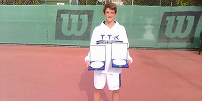 Albert Roglan Pons, campió del MARSA TENNIS EUROPE U16
