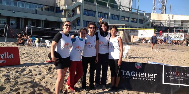 Èxit en ple desembre del V We Beach celebrat al CN Barcelona i colaborant amb la Marató de TV3