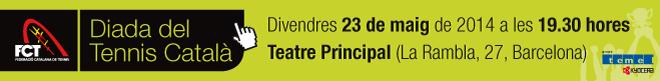 23 de maig al Teatre Principal   Diada del Tennis Català patrocinada pel grup TEMEL-KYOCERA