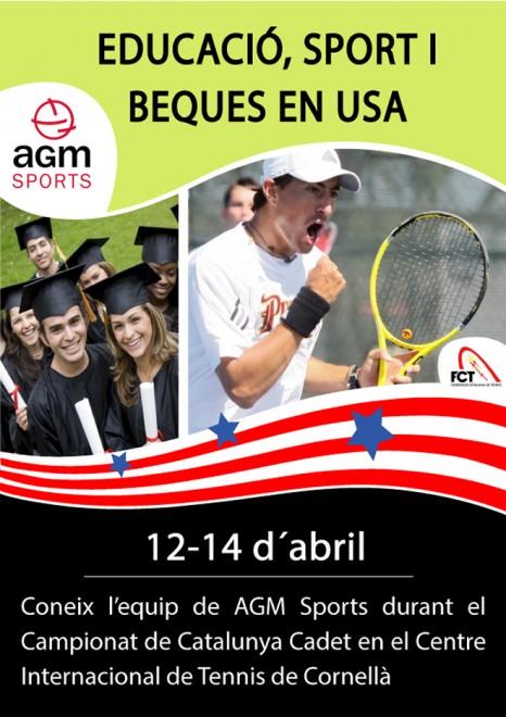 Del 12 al 14 d'abril CIT Cornellà | AGM Sports patrocina el Campionat de Catalunya Cadet