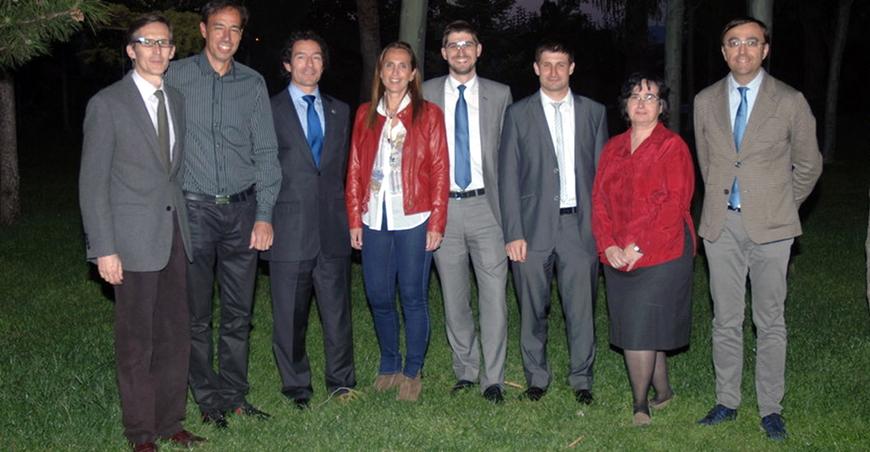 Jorge Culleré amb la nova junta