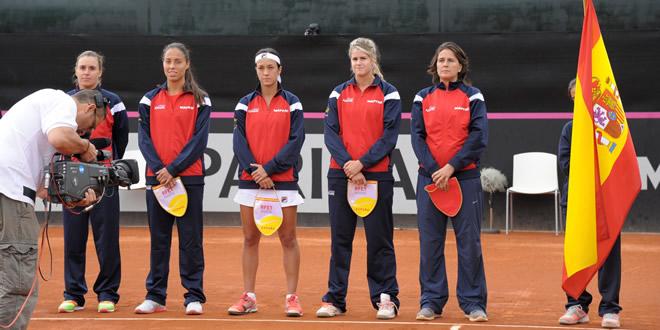 Tita Torró iguala l'eliminatòria de Fed Cup contra Polònia