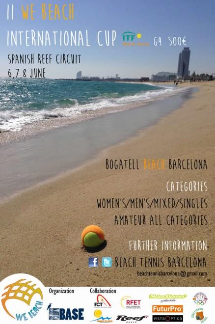 II We Beach International Cup, la primera prova internacional de la temporada