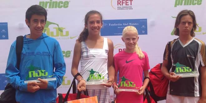 Finalitza el NIKE JUNIOR TOUR A Saragossa amb 1 campió i 3 finalistes catalans.