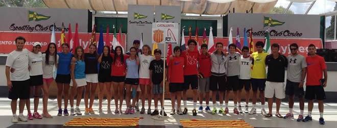 L'expedició catalana ja està a La Corunya on es disputa el Campionat d'Espanya Infantil