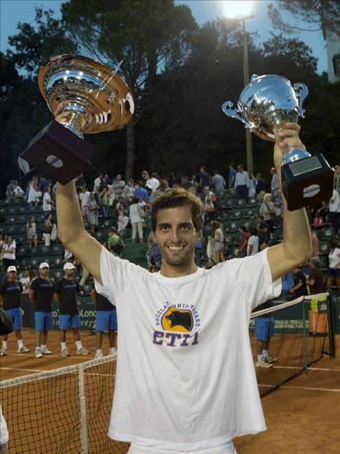 El jugador d'ETM Albert Ramos guanya el segon Challenger de la temporada
