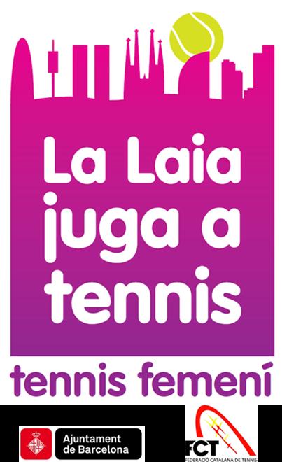 Logo La Laia Juga a Tennis