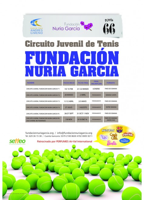FUNDACION CARTEL CALENDARIO