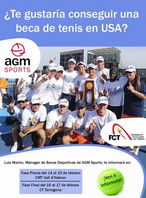 Cartel Campeonato Cataluña Tenis