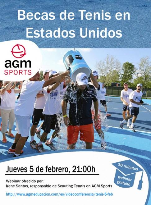 AGM 5 de febrer 21h.   webinar educatiu gratuït sobre beques de tenis als EEUU