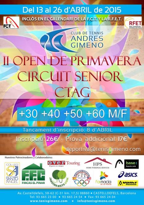 II OPEN PRIMAVERA 2015