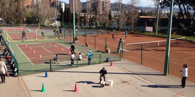 Bon temps, bon ambient i bon tennis a la segona jornada del nou Activa Tennis!