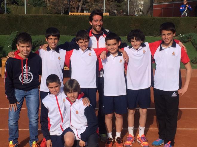 El RCT Barcelona-1899 vencedor del Campionat de Catalunya Aleví per equips en la categoria Or