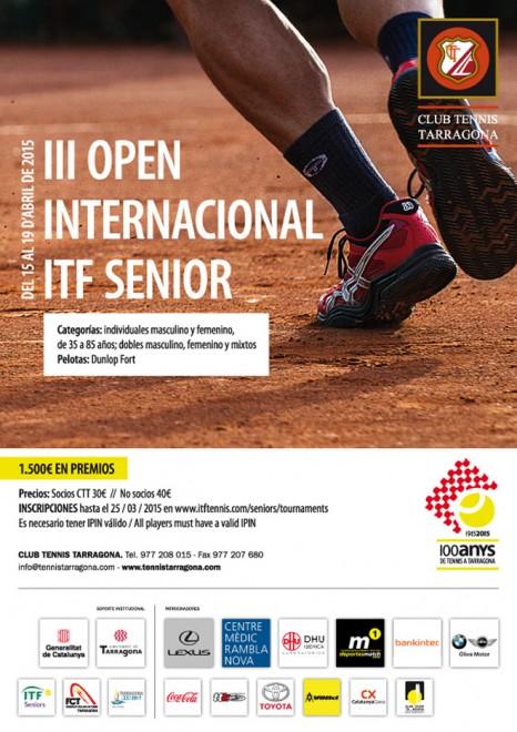 Open Internacional ITF Senior. CT Tarragona